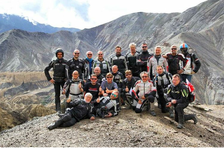Group Riders in Himalayas